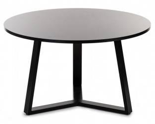 Stolik kawowy TRILEG 90 cm czarny