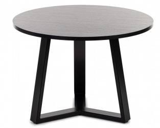 Stolik kawowy TRILEG 70 cm czarny