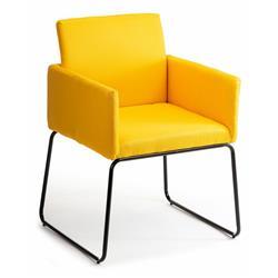 Krzesło Sitta Black Yellow