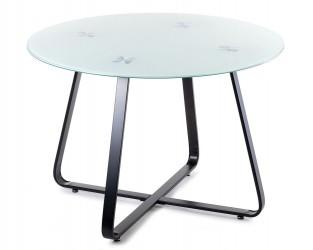 Stół okrągły Tika Black 110 cm