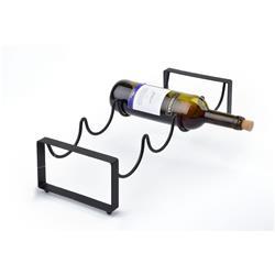 Metalowy stojak na wino Cedric
