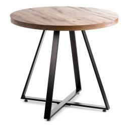 Okrągły stół Suri Black Oak