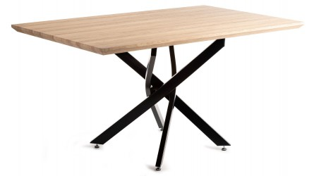 Stół Makari Black Oak 150x90 cm