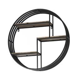 Półka ścienna okrągła Vintage 58 cm