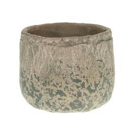 Donica cementowa antyczny beż 16x13 cm
