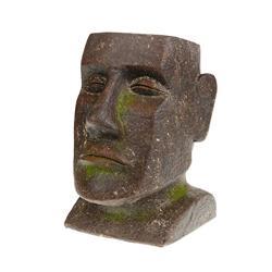 Donica osłonka Głowa Moai 31,5 cm