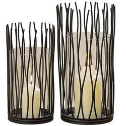 Świeczniki Lario  komplet- wys. 30 cm