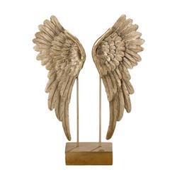 Skrzydła dekoracyjne złote Cosmo figurka