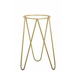 Złoty nowoczesny kwietnik Loft 50cm