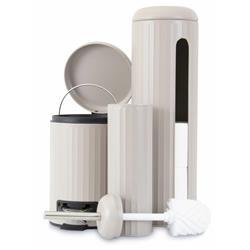 Zestaw akcesoriów łazienkowych - beżowy