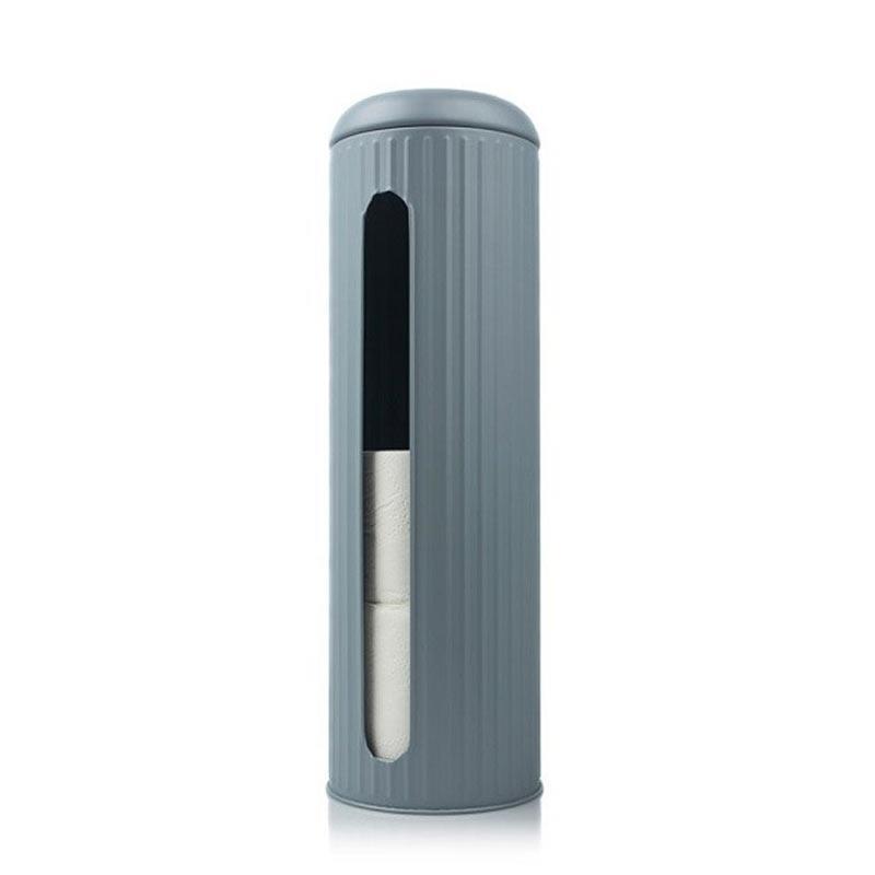 Pojemnik na papier toaletowy - szary
