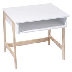 Biurko drewniane dla dziecka białe