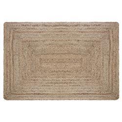 Prostokątny dywan jutowy 60x90 cm