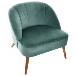 Fotel Naova Bleu Celadon