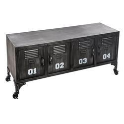 Metalowa szafka Sevin na kółkach