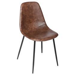 Krzesło Vladi brązowe