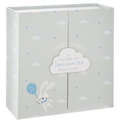 Pudełko z szufladkami Birth Box szare