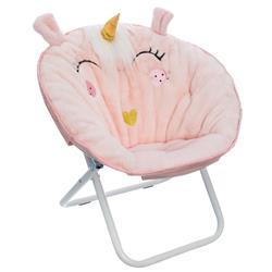 Fotel dla dzieci Unicorn różowy