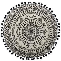 Okrągła poduszka dekoracyjna Delhi 40 cm