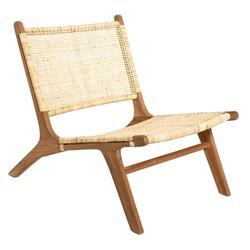 Drewniany fotel Timor