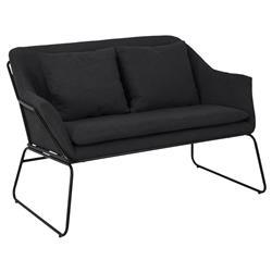 Sofa 2 osobowa Chet szara