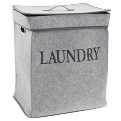 Kosz na pranie jasno szary Laundry