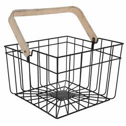 Koszyk metalowy z rączką