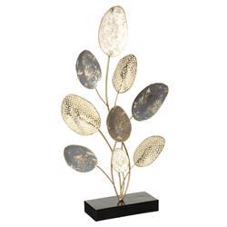Metalowa figurka Liście 53 cm