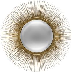 Metalowe lustro Słońce 58 cm