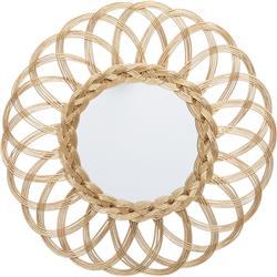 Wiklinowe lustro Flocons 50 cm