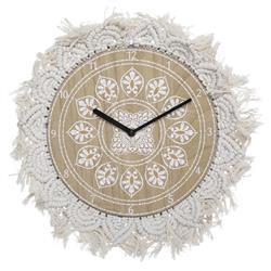 Zegar ścienny Macrame 38 cm