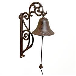 Żeliwny Dzwon ścienny vintage