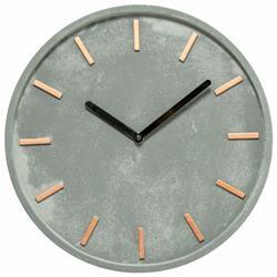 Zegar ścienny Gela z cementu 27,5 cm