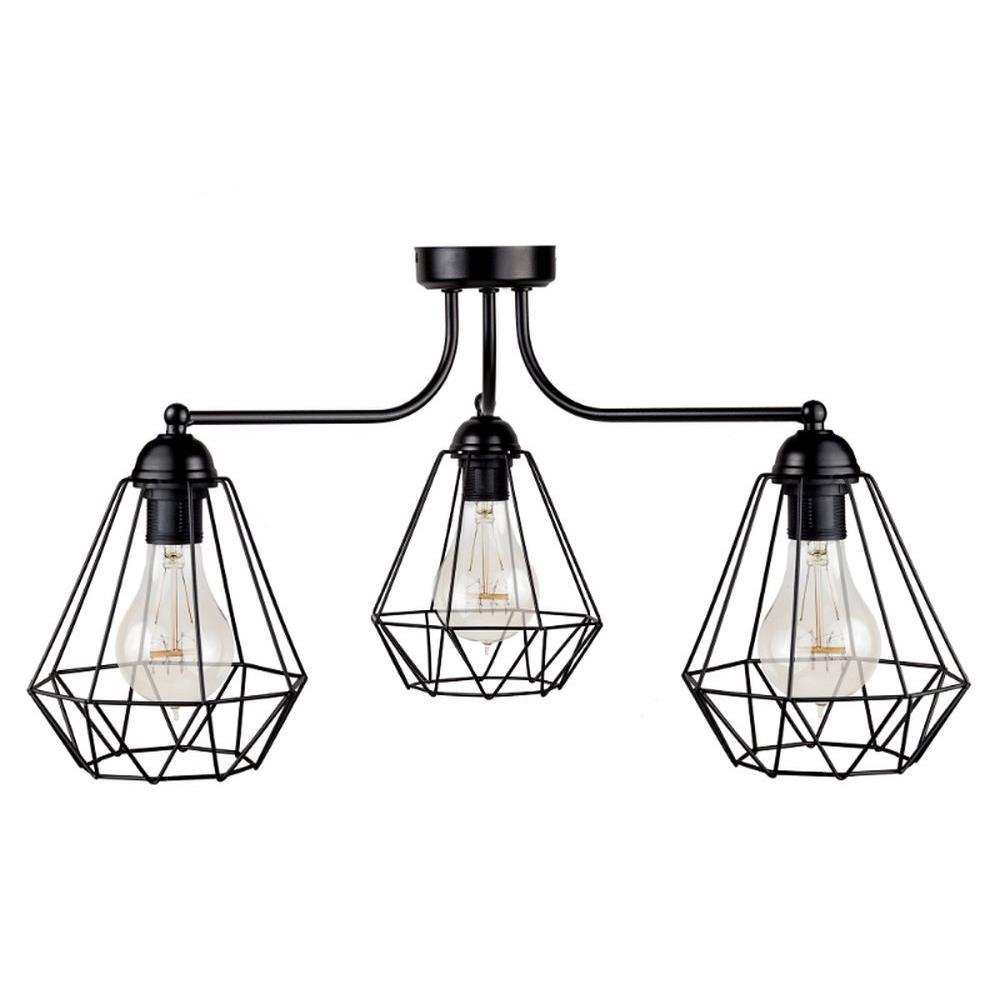 Lampa sufitowa Triplo Diamante Tre