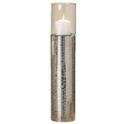 Świecznik srebrny Detroit 48 cm
