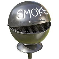 Popielnica ogrodowa Smoke wys 113 cm