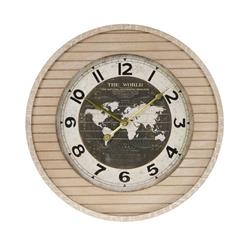 Zegar ścienny drewniany 50x7 cm