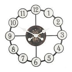 Zegar duży ścienny Round Ball 60 cm