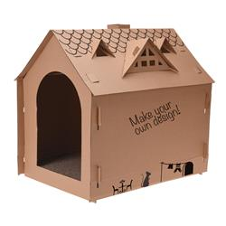 Domek kartonowy dla kota
