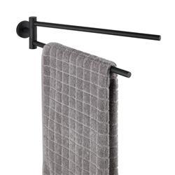 Wieszak na ręczniki Bosio Black