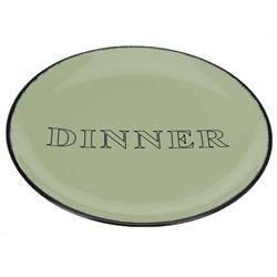 Talerz obiadowy Dinner zielony