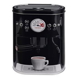 Puszka ekspres do kawy czarna 22 cm