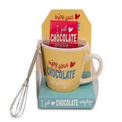 Kubek Enjoy Chocolate + czekolada