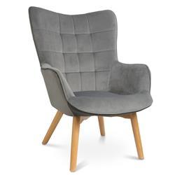 Fotel Grella Aluminium