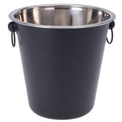 Cooler metalowy z uchwytami czarny