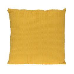 Poduszka 45x45 cm dekoracyjna żółta