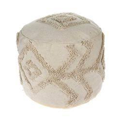 Bawełniana pufa w stylu Boho 45 cm