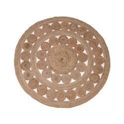 Dywan okrągły pleciony z Juty 150 cm