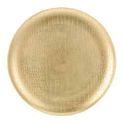 Dekoracyjny talerz złoty 33 cm