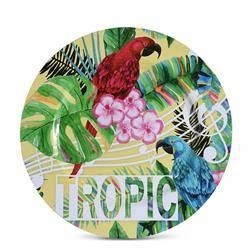 Talerz okrągły 33 cm Yellow Tropic
